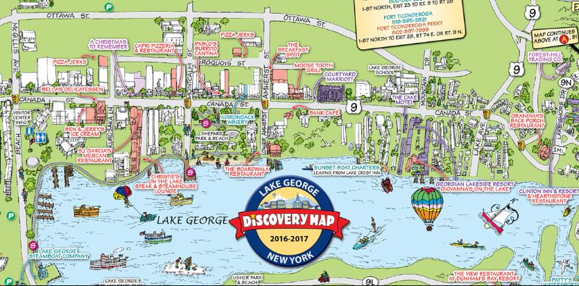 lake george village map Traveler And Tourist Friendly Village Of Herkimer Master Plan 2020 lake george village map